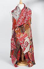 Kantha Patchwork Vest by Mieko Mintz (Cotton Vest- Size 2 (12-20))