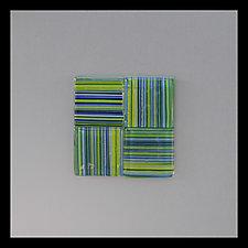 Maquette (344) by Doug Gillis (Art Glass Wall Art)