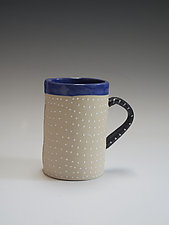 White Mug by Vaughan Nelson (Ceramic Mug)