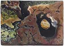 Geo Cache by Anne Nye (Art Glass Wall Art)