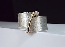 Celebration Ring by Dagmara Costello (Gold, Silver & Stone Ring)