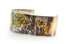 Jungle Fever Cuff by Nancy Troske (Gold & Silver Bracelet)