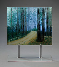 Around the Bend by Paul Messink (Art Glass Sculpture)