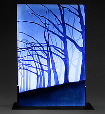 Where My Soul Lingers by Paul Messink (Art Glass Sculpture)