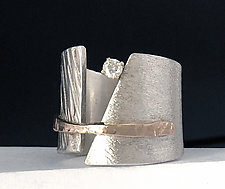 Conversation Piece Ring by Dagmara Costello (Gold, Silver & Stone Ring)