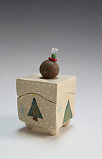 Christmas Tree Box by Vaughan Nelson (Ceramic Box)
