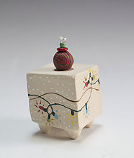 Holiday Lights Box by Vaughan Nelson (Ceramic Box)