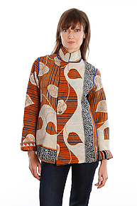Simple Jacket #7 by Mieko Mintz  (Size M (10-12), One of a Kind Jacket)