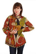Simple Jacket #10 by Mieko Mintz  (Size L (14-16), One of a Kind Jacket)