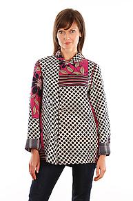 Simple Jacket #11 by Mieko Mintz  (Size L (14-16), One of a Kind Jacket)