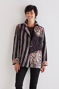 Simple Jacket #13 by Mieko Mintz  (Size L (14-16), One of a Kind Jacket)