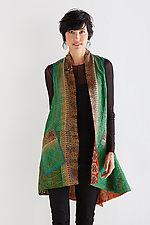 Silk A-Line Vest #5 by Mieko Mintz  (Size 1 (2-12), One of a Kind Vest)