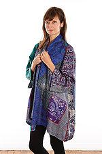 Silk A-line Jacket #2 by Mieko Mintz  (Size 1 (2-16), One of a Kind Jacket)
