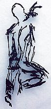 Reaching Model by Paul Arsenault (Metal Wall Sculpture)