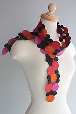 Potpourri Scarf by Mila Sherrer  (Wool & Silk Scarf)