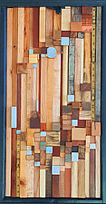 Poetry of Waiting by Heather Patterson (Wood Wall Sculpture)