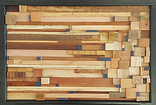 Map of Frozen Warehouses by Heather Patterson (Wood Wall Sculpture)