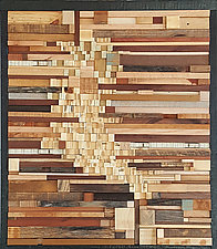 Lost in Decision by Heather Patterson (Wood Wall Sculpture)