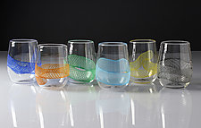 Frost Tone Glasses by Frost Glass (Art Glass Tumblers)