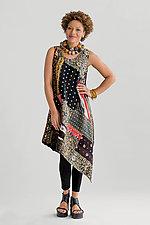 Two-Layer Tank Flare Dress by Mieko Mintz  (Cotton Dress)