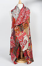 Kantha Patchwork Vest by Mieko Mintz (Cotton Vest- Size 1 (2-12))