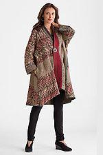Soho Bamboo Kimono Jacket by Mieko Mintz  (Woven Jacket)