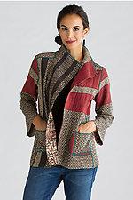 Soho Bamboo Short Jacket by Mieko Mintz (Cotton Jacket)