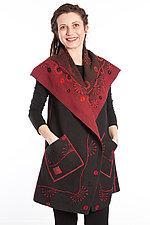 Ombre Ralli Vest by Mieko Mintz  (Cotton Vest)