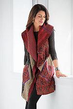 Soho Bamboo Vest by Mieko Mintz  (Kantha Cotton Vest)