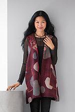 Wing Collar Vest by Mieko Mintz  (Cotton Vest)
