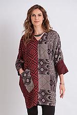 Barra Dolman Sleeve Tunic by Mieko Mintz  (Woven Tunic)