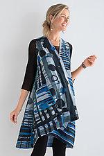Lakeside Wrap Vest by Mieko Mintz  (Woven Vest)