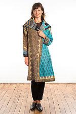 A-Line Coat #3 by Mieko Mintz  (One Size (2-16), Cotton Coat)