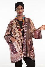A-Line Jacket #22 by Mieko Mintz  (Size 2 (14-18), Silk Jacket)