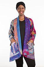A-Line Jacket #20 by Mieko Mintz  (Size 1 (2-12), Silk Jacket)