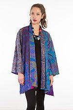 A-Line Jacket #27 by Mieko Mintz  (Size 1 (2-12), Silk Jacket)