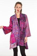 A-Line Jacket #26 by Mieko Mintz  (Size 1 (2-12), Silk Jacket)