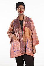 A-Line Jacket #24 by Mieko Mintz  (Size 1 (2-12), Silk Jacket)