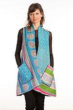 A-Line Vest #1 by Mieko Mintz  (Size 1 (2-14), Cotton Vest)