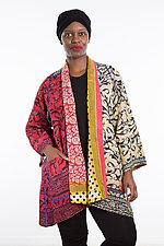A-Line Jacket #7 by Mieko Mintz  (Size 1 (2-12), Cotton Jacket)