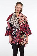 Circular Long Jacket #10 by Mieko Mintz  (One Size (2-18), Cotton Jacket)
