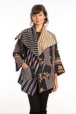 Circular Long Jacket #1 by Mieko Mintz  (One Size (2-18), Cotton Jacket)