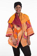 Circular Long Jacket #8 by Mieko Mintz  (One Size (2-18), Cotton Jacket)