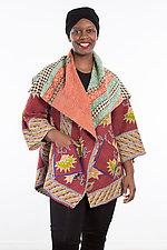 Circular Long Jacket #6 by Mieko Mintz  (One Size (2-18), Cotton Jacket)