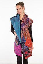 Circular Vest #7 by Mieko Mintz  (Size 2 (14-18), Silk Vest)