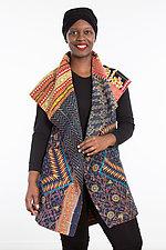 Circular Vest #4 by Mieko Mintz  (Size 1 (2-14), Cotton Vest)