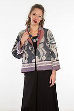 Cropped Jacket #11 by Mieko Mintz  (One Size (4-14), Cotton Jacket)