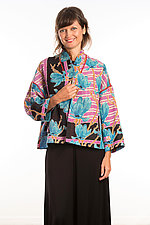 Cropped Jacket #3 by Mieko Mintz  (One Size (4-14), Cotton Jacket)