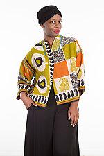 Cropped Jacket #7 by Mieko Mintz  (One Size (4-14), Cotton Jacket)