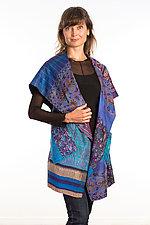 Circular Vest #6 by Mieko Mintz  (Size 1 (2-12), Silk Vest)